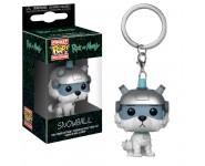 Snowball keychain из мультика Rick and Morty