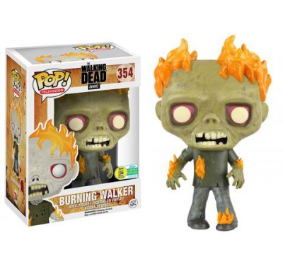 Burning Walker SDCC 2016 (Эксклюзив) из сериала Walking Dead Funko POP