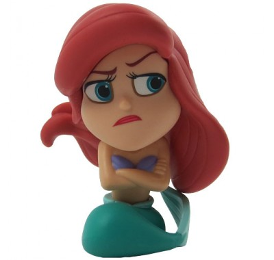 Ariel (1/12) minis из серии Disney Heroes vs Villains
