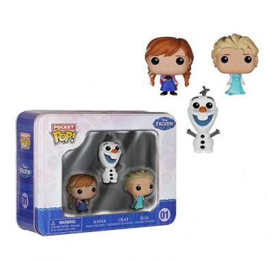 Анна, Олаф, Эльза сет (Anna, Olaf, Elsa set) из мультика Холодное сердце