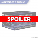 СПОЙЛЕР! Состав коробки Marvel Collector Corps на тему The Infinity Saga End Credits Scenes
