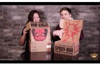 Unboxing Человек-Паук набор из бокса Funko и Marvel Collector Corps