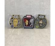 Нашивки: C-3PO, Iron Man vs Ultron, Rouge One
