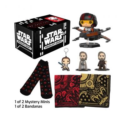 Последний Джедай набор (Last Jedi box (ПОДПИСКА)) из коробки Smugglers Bounty от Фанко по фильму Звездные войны