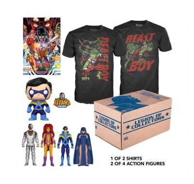 Юные Титаны набор (Teen Titans box (размер XS) (ПОДПИСКА)) из бокса Legion of Collectors от Фанко и ДС Комикс