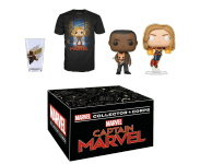 Captain Marvel Collector Corps Box (Размер XS) от Funko и Marvel