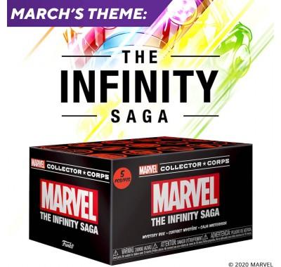 Сага Бесконечности (The Infinity Saga) из набора Collector Corps от Фанко и Марвел