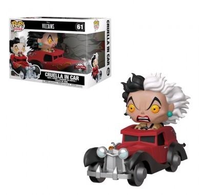Стервелла Де Виль на машине райд (Cruella in Car Ride (Эксклюзив Hot Topic)) (preorder WALLKY) из мультика 101 далматинец Дисней