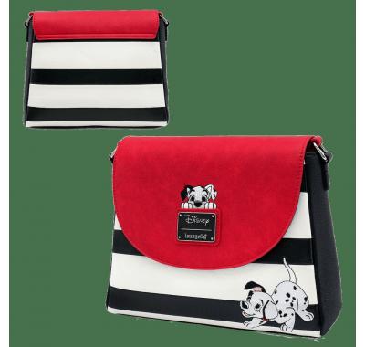 101 Далматинец сумка кросс-боди (101 Dalmatians Striped Crossbody (PREORDER ZS)) из мультика 101 далматинец Дисней