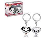 Pongo and Perdita Keychain (PREORDER ZS) из мультика 101 Dalmatians Disney