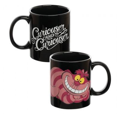 Чеширский Кот кружка (Cheshire Cat Heat Reactive Ceramic Mug) из мультфильма Алиса в Стране чудес