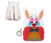 White Rabbit Mini Backpack (PREORDER ZS) из мультфильма Alice in Wonderland