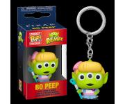 Alien Remix Bo Peep Keychain из мультфильмов Pixar