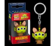 Alien Remix Bullseye Keychain из мультфильмов Pixar
