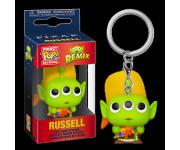 Alien Remix Russell Keychain из мультфильмов Pixar