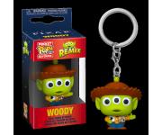 Alien Remix Woody Keychain из мультфильмов Pixar