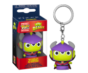 Alien Remix Emperor Zurg Keychain из мультфильмов Pixar