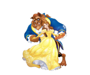 Formal Belle and Beast Moment из мультика Beauty and the Beast