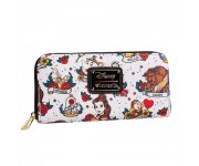 Belle Tattoo Print Wallet из мультфильма Beauty and the Beast