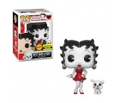 Betty Boop with Pudgy black and white with Red Dress (Эксклюзив Entertainment Earth Chase) из мультфильма Betty Boop