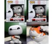 Baymax with Cat 6-Inch (Эксклюзив) (Preorder MID December) из мультика Big Hero 6