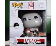 Baymax with Cat 6-Inch GitD (Chase, Эксклюзив BoxLunch) (Preorder MID December) из мультика Big Hero 6