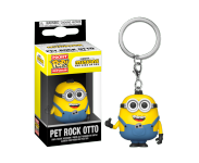 Pet Rock Otto Keychain из мультфильма Minions: The Rise of Gru