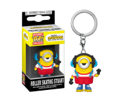 Roller Skating Stuart Keychain (PREORDER ZS) из мультфильма Minions: The Rise of Gru