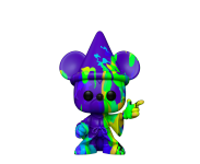 Sorcerer Mickey Purple and Green Art Series 80th Anniversary из мультфильма Fantasia