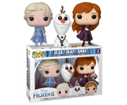 Anna, Elsa and Olaf 3-pack (Эксклюзив Barnes and Noble) из мультфильма Frozen 2