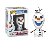 Olaf with Bruni из мультфильма Frozen 2