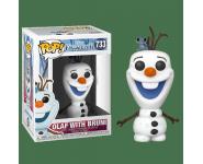 Olaf with Bruni из мультфильма Frozen 2