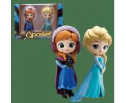 Anna and Elsa Q Posket 2-pack (PREORDER QS) из мультфильма Frozen