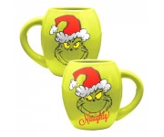 Grinchmas Naughty and Nice Oval Ceramic Mug из книг Dr. Seuss The Grinch