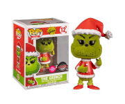 Grinch Santa Flocked (Эксклюзив Books-A-Million) из книг Dr. Seuss The Grinch