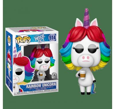 Радужный единорог со стикером (Rainbow Unicorn (Эксклюзив Disney Parks) из мультика Головоломка