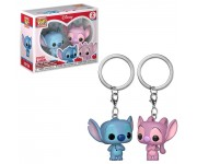 Stitch and Angel keychain 2-pack из мультфильма Lilo and Stitch