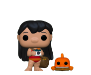 Lilo with Pudge из мультфильма Lilo and Stitch