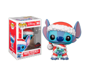 Stitch Santa with Scrump (Эксклюзив Hot Topic) из мультфильма Lilo and Stitch