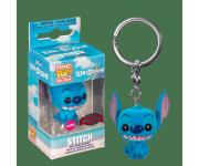 Stitch Seated Flocked Keychain (Эксклюзив BoxLunch) из мультфильма Lilo and Stitch