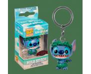 Stitch in Hula Skirt Keychain (Эксклюзив Hot Topic) из мультика Lilo and Stitch