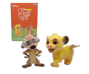 Simba and Timon Fluffy Puffy (PREORDER QS) из мультфильма The Lion King Disney