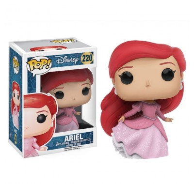Русалочка Ариэль в платье блестящая (Ariel Gown Glitter Non-Translucent) из мультика Русалочка
