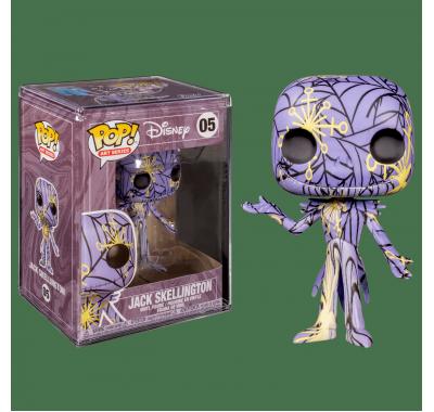 Джек Скеллингтон Дисней Арт фиолетовый (Jack Skellington Disney Art Series Purple) из мультика Кошмар перед Рождеством