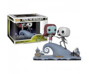 Jack Skellington and Sally Under The Moonlight movie moment из мультика The Nightmare Before Christmas