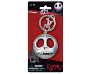 Jack's Head Pewter Keychain Monogram из мультфильма The Nightmare Before Christmas