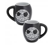 Jack Skellington Black Oval Ceramic Mug из мультика Nightmare Before Christmas