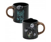 Jack and Sally Heat Reactive Ceramic Mug из мультика Nightmare Before Christmas