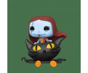 Sally in Cat Train Cart из мультика Nightmare Before Christmas