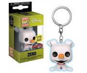 Zero Keychain GitD (Эксклюзив Box Lunch) из мультика Nightmare Before Christmas